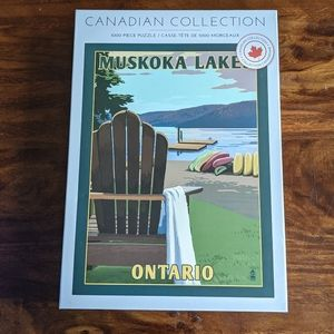 Indigo Muskoka lakes Canadian puzzle 1000 pieces